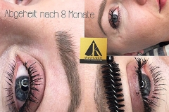 Abgeheilte Ergebnisse Microblading München 7