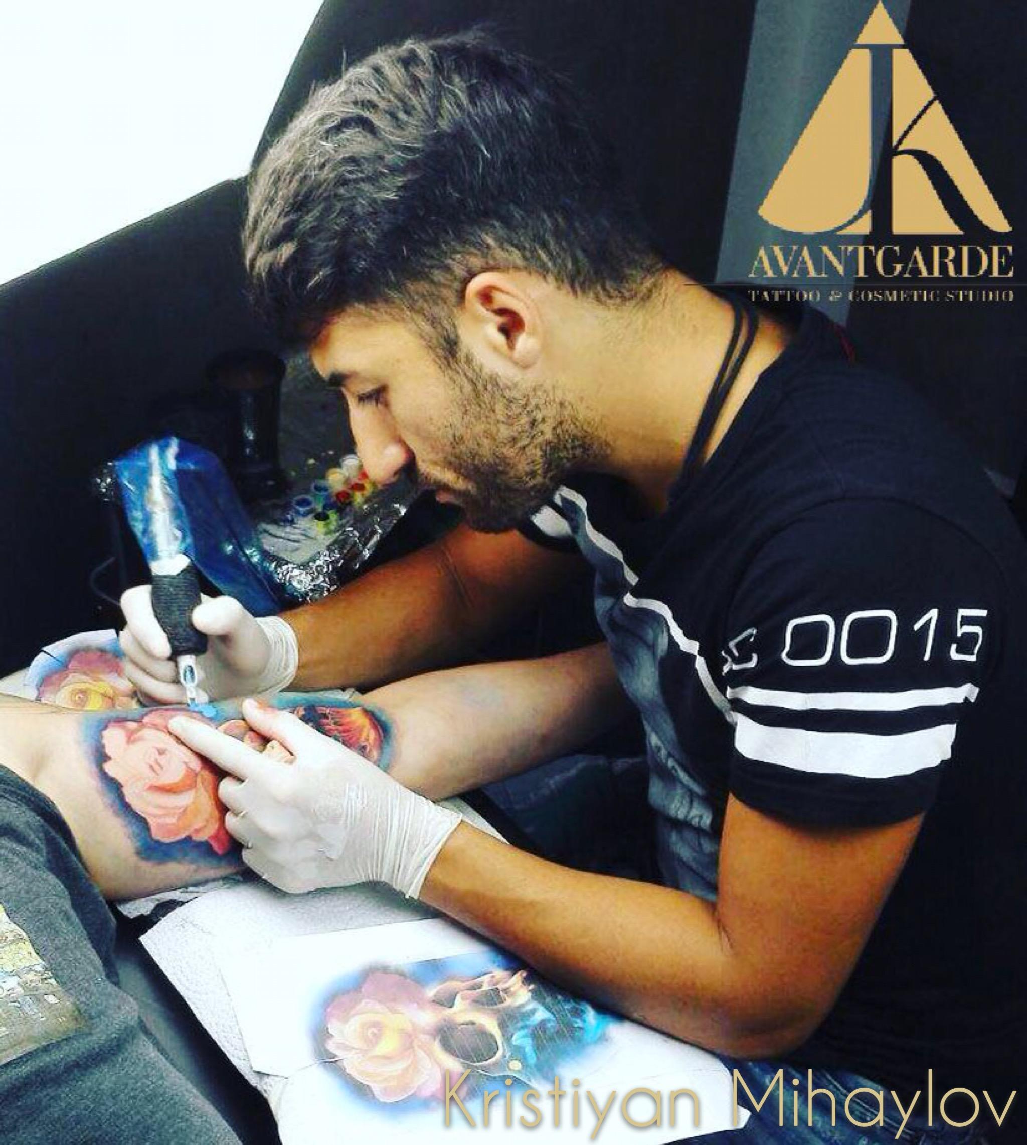 Tattoo Artist Kristiyan Mihaylov Munich